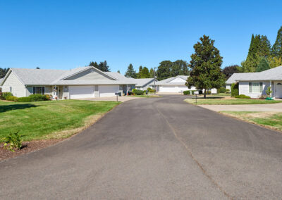senior community senior living Kiwi-Loop-Duplexes-Street-entrance-view