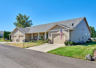 Senior retirement home - duplexes, condos, live in care -Redwood-Ct-Triplexes